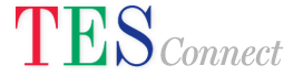 tes connect logo and link to site