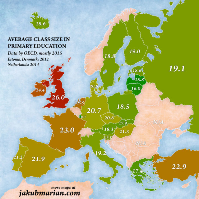 Average Class Size - elearningcentral.info