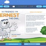 Ernest The Owl - elearningcentral.info